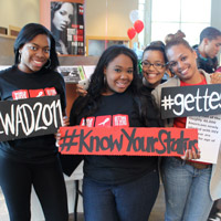 HU Students Raise Awareness, get Tested for HIV/AIDS on World AIDS Day