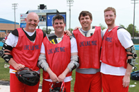 Alumni from St. Thomas More's Lacrosse Team played at Lacrosse Day
