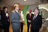 Dr. Harvey, Sec. Moniz and Congressman Robert 'Bobby' Scott tour HUPTI.