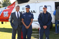 Students in Coast Guard College Student Pre-Commissioning Initiative receive payment of full tuition, books, and fees for up to two years, a salary of $3600 per month and full medical benefits.