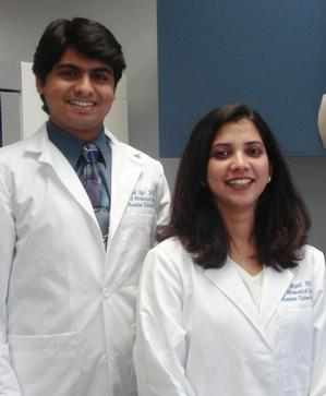 Dr. Anand Iyer and Dr. Neelam Azad