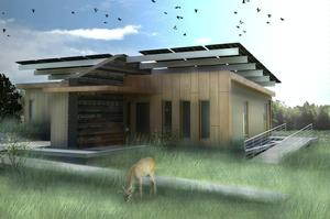 Design rendering of the Canopy House