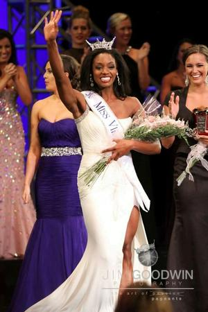Miss Virginia 2013, Desiree Williams