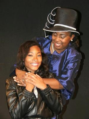 Performers Ashanti Branch and Charity Robinson