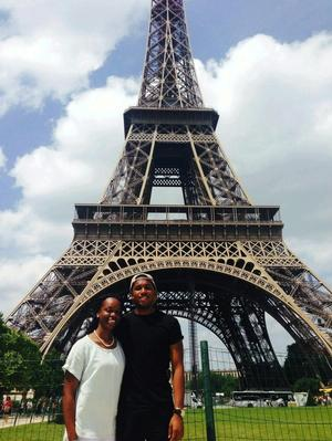 HU students also visited Paris, France during their trip.