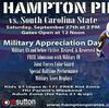 HU to honor Military during home football game