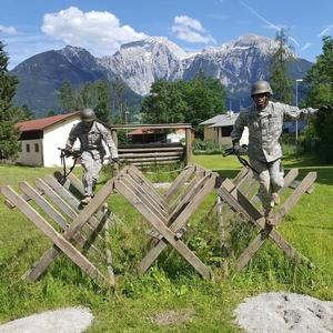 CDT Pierce Watson completes the Mountaineer Course in Bavaria, Germany.