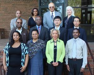 Hampton University PREM interdisciplinary research team.