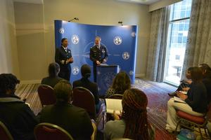 Hampton University on hand for first-ever NATO News Conference for College Students