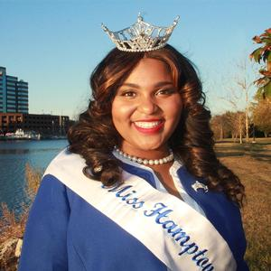 Nyia Fairley, Miss Hampton University 2016-17