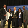 The White House Initiative on HBCUs Awards HU President Dr. William R. Harvey