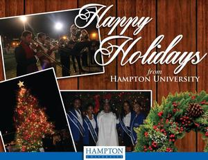 Happy Holidays from Hampton University