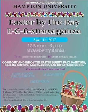 Hampton U Celebrates 12th Annual Easter by the Bay E-G-G-stravaganza April 15