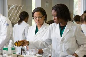 Hampton University Pharmacy Students