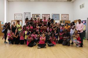 Hampton University shows its support for breast cancer and HU's Cancer Research Center