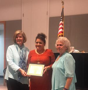 Joy Phelps Receives Helping Hands Award