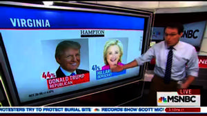 HU CPP Poll reported by Steve Kornacki on MSNBC