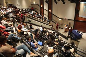 Star Jones addresses JAC-101 class