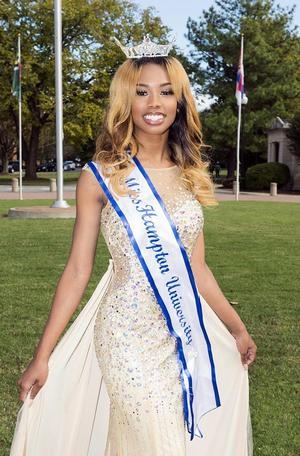 Brooklyne Baker, Miss Hampton University 2017-18