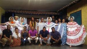 Hampton University students traveled to Panama as part of the WRHLI International Service Learning Program