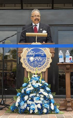 Hampton University President Dr. William R. Harvey