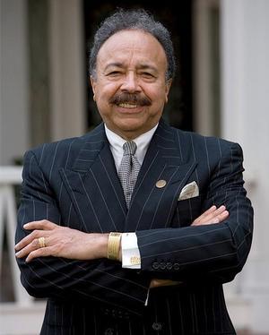 Hampton University President Dr. William R. Harvey