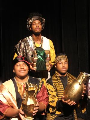 'The Hampton Players & Company Presents Black Nativity by Langston Hughes'