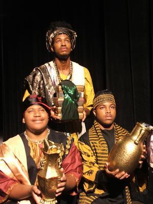 'The Hampton Players & Company Presents Black Nativity by Langston Hughes'