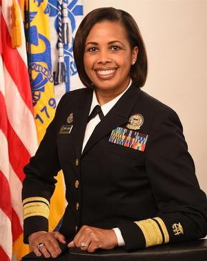 Deputy U.S. Surgeon General Rear Adm. Sylvia Trent-Adams