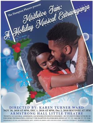 The Hampton Players & Company Present 'Mistletoe Jam: A Holiday Musical Extravaganza' by V.J. Banks