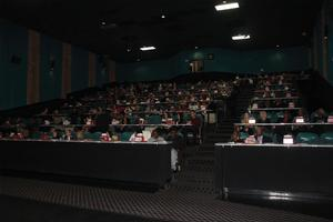 'Jacqueline and Jilly' screened in front of a capacity crowd at the Hampton Cinmea Cafe