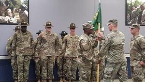 CPT De'Angelo Criss took command of 'C' Company 787 Military Police Battalion