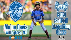 Mo'ne Davis picture courtesy of Little League Baseball and Softball.