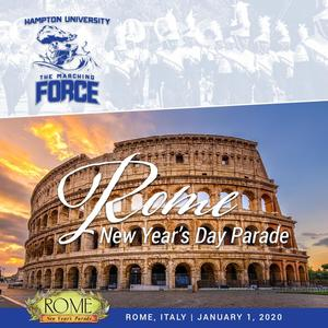 The Marching Force will perform in the 2020 Rome New Year's Day Parade