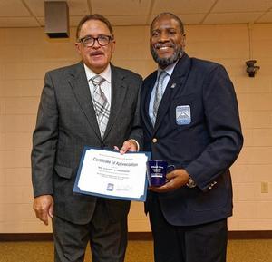 Mr. Calvin Pearson and Dr. Jarris Louis Taylor, Jr.