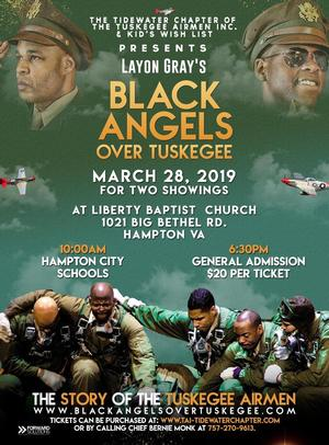 Purchase Tickets Now for a New Play, 'Black Angels Over Tuskegee'