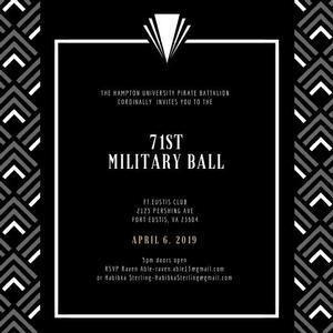 Pirate Battalion 71st Annual Military Ball
