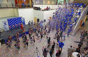 The Hampton University Marching Force, was selected to perform in the 2020 Macy's Thanksgiving Day Parade®, representing the state of Virginia
