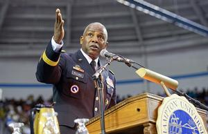 Keynote speaker, alumnus Lieutenant General Darrell K. Williams