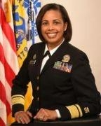 RADM Sylvia Trent-Adams, Class of 1987, Shatters Another Glass Ceiling