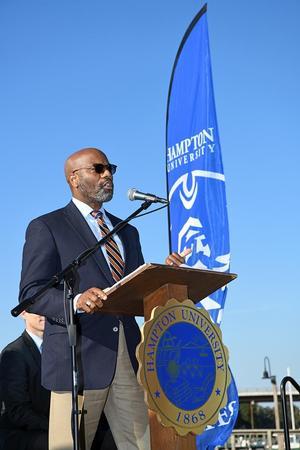 Atty. Paul C. Harris, Hampton University Sr. Vice-President