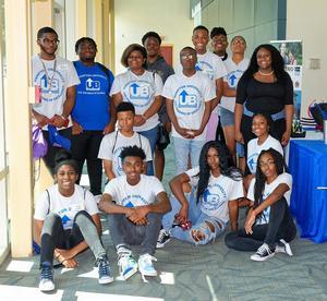 Students at Upward Bound Day
