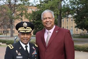 LTG Ferrell and Lt. Claude Vann III