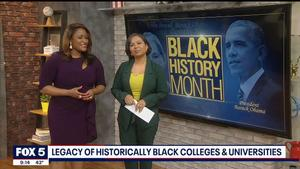FOX 5's Allison Seymour takes us inside for a look at black history at her HBCU alma mater, Hampton University!