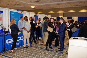 Corporations, government agencies and educational institutions from all over the country had the opportunity to acquaint students with their organizations while recruiting potential employees.