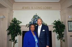 Dr. William R. Harvey and Ms. Jewel B. Long