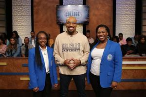 Sara Avery, Nephew Tommy and Dr. Rikesha L. Fry Brown. Photo courtesy of Black College Quiz.