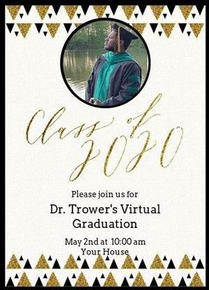 Congratulations to Dr. Christopher Trower