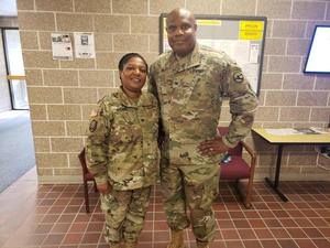 COL Paul Holt and COL Nicole (Johnson) Spears
