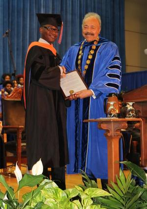 Dr. William R. Harvey and  Dr. Otsebele E. Nare
